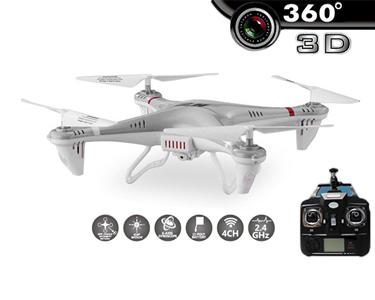 Drone Super-X5 com Câmara HD 3D 2.4G