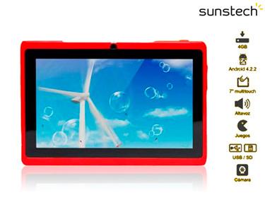Tablet de Criança KidsPad 7 c/ Capa de Silicone | Mais de 50 Jogos