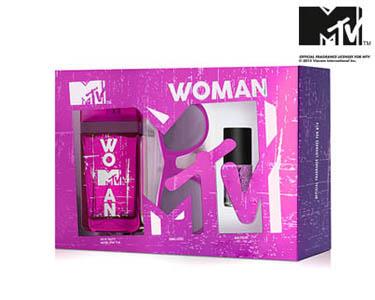 Conjunto Perfume MTV Woman | Apaixonada e Confiante