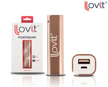 Power Bank 2600 mAh c/ Adaptador Lovit®