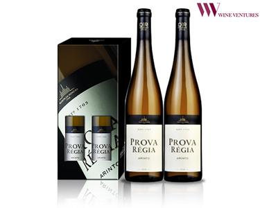 Pack 2 Garrafas de Vinho Prova Régia Branco