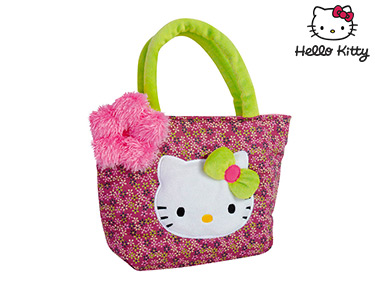 Hello Kitty | Saco Flower Verde&Rosa