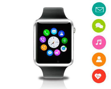 SmartWatch 1,54' | Câmara Incorporada, Cartão SIM & Alta Voz