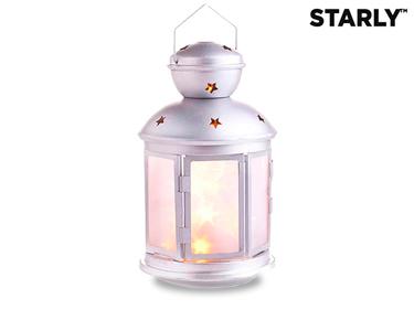 Candeeiro Decorativo com Estrelas LED Cintilantes