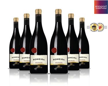 Pack 6 Garrafas de Vinho Tinto Romeira | Colheita Seleccionada