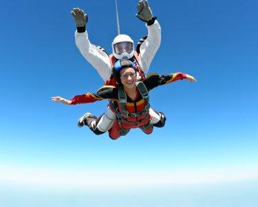 Salto Tandem | Évora - A Aventura de uma Vida a 3000m de Altitude