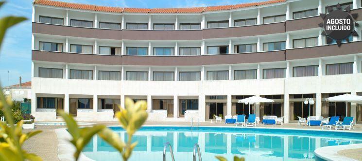 1 a 5 Noites de Romance c/ Vista Piscina | Hotel Meia Lua - Ovar