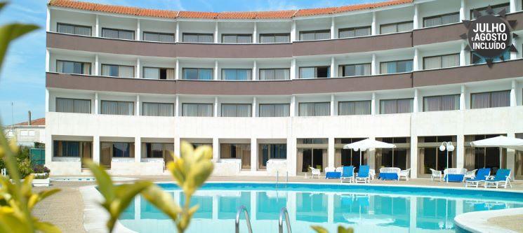 1 a 5 Noites de Romance c/ Vista Piscina   Hotel Meia Lua 4* - Ovar