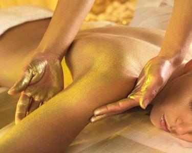 Experiência d´Ouro: Massagem + Mini Facial + Ritual Chá | Boavista