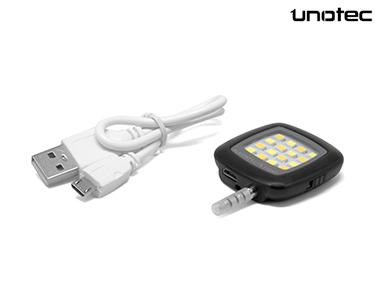 Flash LED Universal para Smartphone   Portátil e Potente