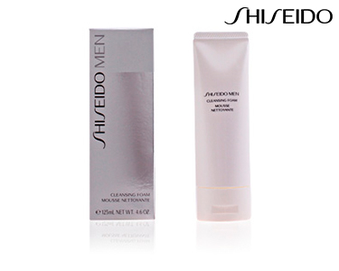Mousse de Limpeza Rosto 125 ml Shiseido® | Para Homem