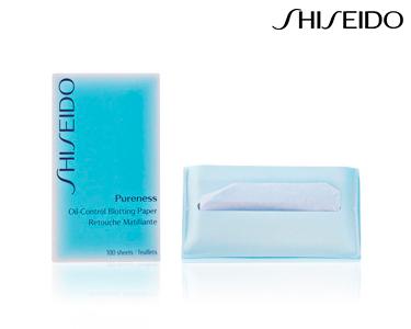 Toalhitas Peles Oleosas 100 unid Shiseido® | Para Mulher
