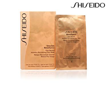 Máscara Facial Revitalizante Shiseido® | Para Mulher