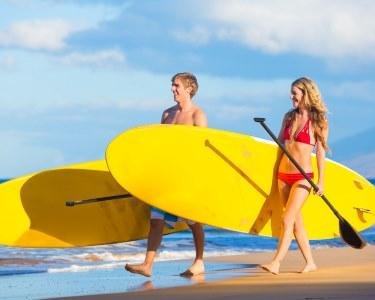 Stand-Up Paddle a Dois! Romance nas Águas da Ericeira