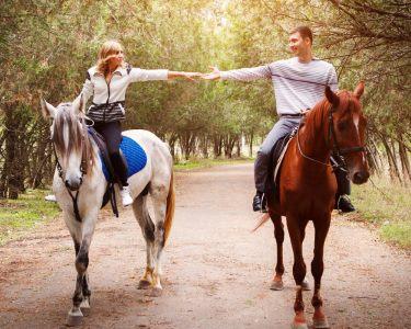 Baptismo de Equitação a Dois | Romance na Coudelaria Qta da Oliveira
