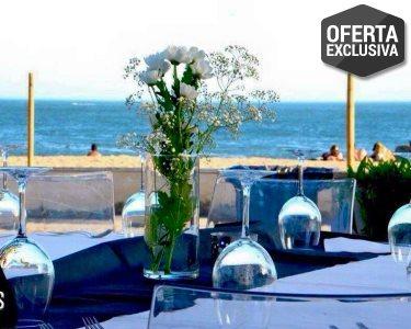 Jantar Romântico c/ Vista Mar para Dois | Paixão na Baía dos Golfinhos