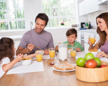 Pequeno-Almoço em Casa p/ Família   Cesta c/ Iguarias   Trigo de Mel