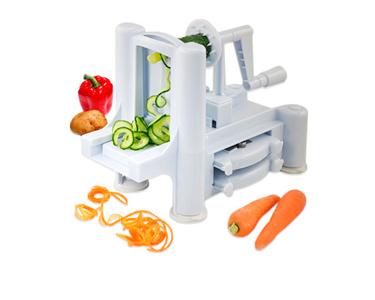 Cortador de Fruta e Legumes Espiral | Pratos sempre Saudáveis!