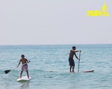Stand-Up Paddle em Águas Planas | Curso para 1 ou 2 Pessoas na Caparica