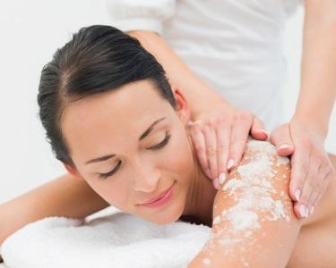 Esfoliação com Sal e Óleo Árgan + Massagem de Hidratação | Porto