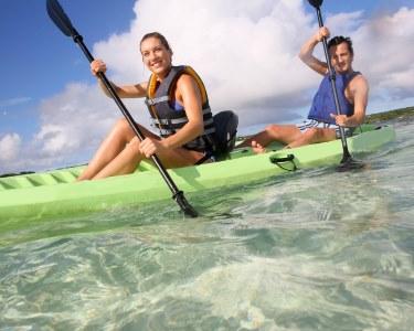 Passeio de Kayak na Lagoa de Óbidos | 1h30 de Romance