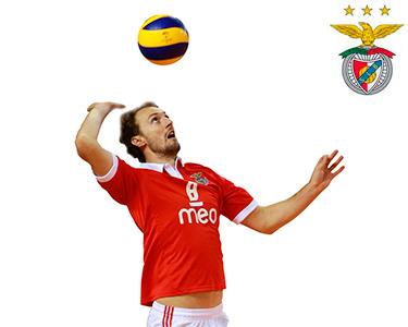 Camisola Principal Vólei SL Benfica 12/13| Escolha o Tamanho