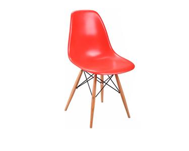 CadeiraTower Wood | Vermelho