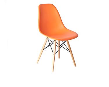 Cadeira Tower Wood | Laranja