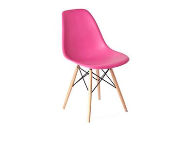 CadeiraTower Wood | Rosa