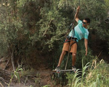 Experimente o Arborismo no Parque Aventura - Albufeira ou Lagos | 3h