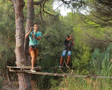 Arborismo - Descubra os Seus Limites! Parque Aventura - Fig. da Foz
