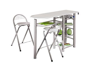 Mesa e 2 Cadeiras p/ Cozinha Frolly | Escolha a Cor