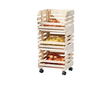 Móvel de Cozinha p/ Arrumação | Fruttino em Pinho