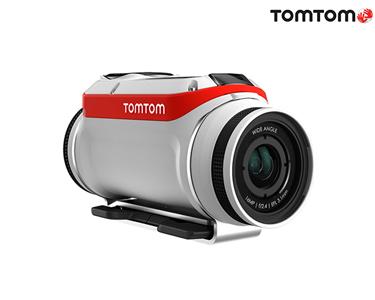 TomTom® Câmara Desportiva Bandit 4K Ultra HD   Lente à Prova de Água