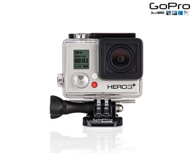 GoPro® Hero3+ Silver Edition com Acessórios