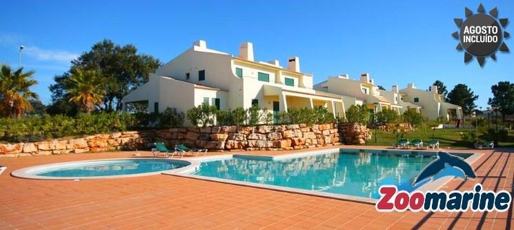 Algarve | 2 a 7 Nts em T2 até 6 Pessoas c/ Entradas no Zoomarine