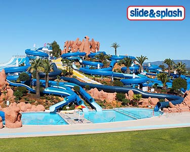 Slide & Splash Algarve! Diversão Total | Nova Atracção: The Big Wave!