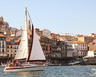 Requinte em Veleiro no Douro! Passeio até 8 Pessoas | 2h - Oporto Sailing Douro