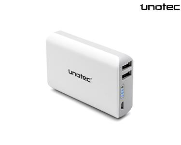 Powerbank de Alta Capacidade   Dupla Saída USB 6600 mAh