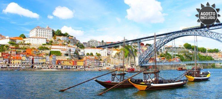 Apaixonante Douro! 1 a 5 Noites + Cruzeiro das 6 Pontes no Hotel Amadeos