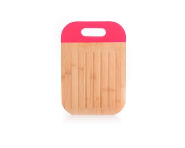 Tábua de Cortar em Bambu c/ Punho | Escolha a Cor