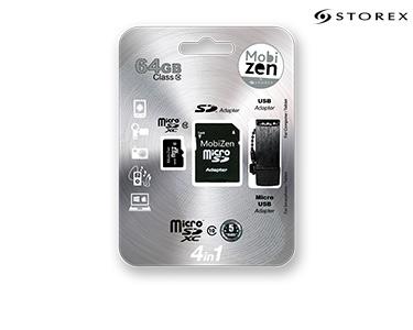 4 em 1 | Usb | Micro USB | SD Adapter | SD | Class 10