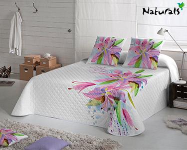 Colcha Lily Flowers Naturals®   Escolha o Tamanho