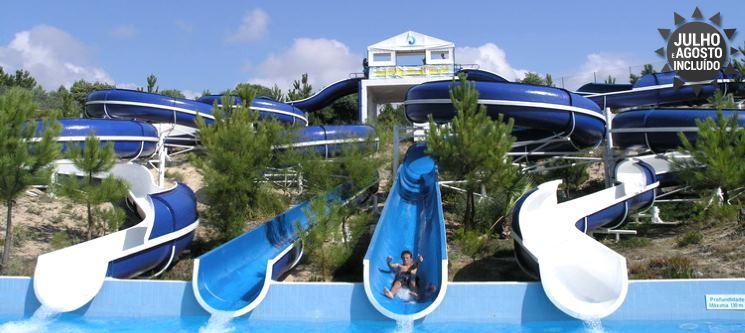 Diversão em Família! 1 ou 2 Noites 4* c/ Entradas para o Norpark | Parque Aquático da Nazaré