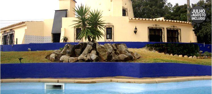 Algarve   3 a 7 Noites até 4 Pessoas em Moinho T1 com Piscina Privativa