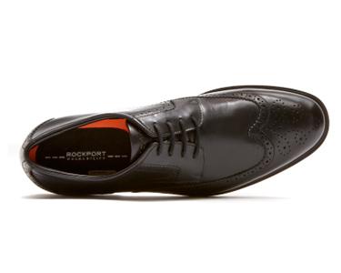 Sapatos Clássicos Smart Wingtip Rockport® | Preto