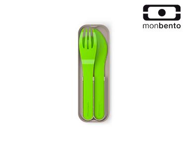 Talheres de Bolso em Plástico Biodegradável  | Verde