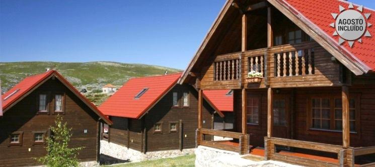 Férias em Família | 1 a 7 Noites na Serra até 6 Pessoas nos Chalés de Montanha 4*