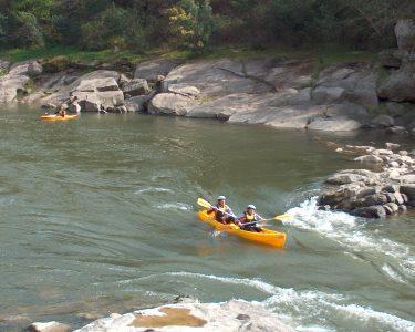 Canoagem para Dois: A Fantástica Descida do Rio Mondego!