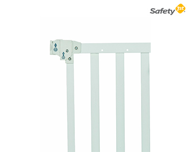 Barreira de Porta Wall Fix Branca | Safety 1st®